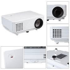 projector for android mdi rd 805 800 lumens with android wifi projector home theater