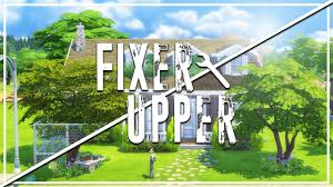 Trash House Safety Hazard The Sims 4 Fixer Upper Home Renovation Youtube