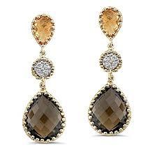 smoky quartz earrings smoky quartz the brown gemstone smoky quartz information and pictures