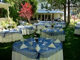 Wedding Table Set Up Outdoor Wedding Table Settings Wedding Party Decoration