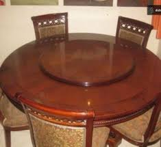 dining table with rotating large revolving dining room tables dining table design ideas