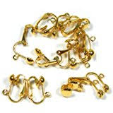 clip on earring converter clip on earring converter 12 pair turn any post or