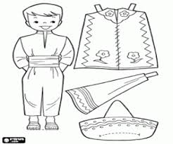 mexico coloring page coloring pages of doll alltoys for