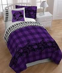 music themed queen comforter glee piano treble clef music themed twin full comforter set 4