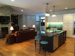 kitchen island seats 6 on the hill in downtown saugatuck new home vrbo