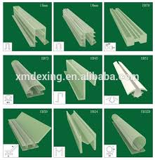 plastic shower door seal glass shower door plastic seal