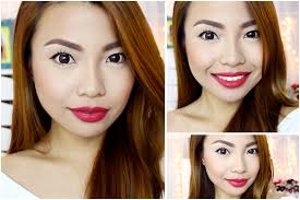 hair color for filipina woman fresh make up for oily skin type youtube