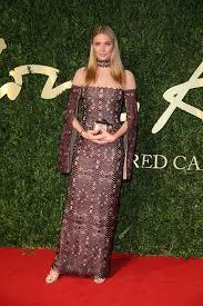British Fashion Awards 2013 Pictures by Jodie Kidd In Marios Schwab At The British Fashion Awards 2013