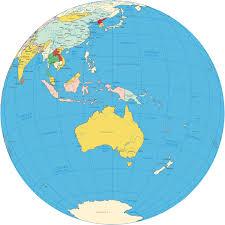 Micronesia Map Oceania Pacific Ocean Islands Map And Globe