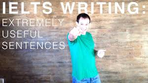 ielts writing essay samples ielts writing task 2 extremely useful sentences youtube