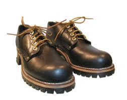 womens boots vibram sole logger boot vintage mens black leather grunge