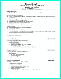 bar resume examples bar manager resume examples resume bar