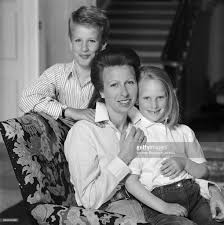 hrh princess anne and her children pictures getty images