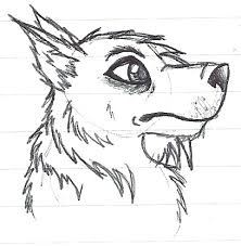 sketches for emo drawings wolf sketches www sketchesxo com