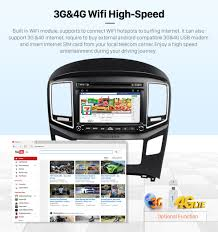 android 6 0 2016 hyundai h1 radio upgrade with dvd player gps