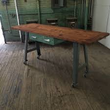 reclaimed wood hundred acre design industrial kitchen island