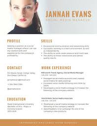 resume with picture template customize 286 photo resume templates canva