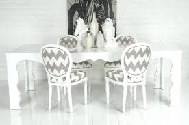 www roomservicestore com chevron print louis dining chair