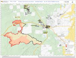 Map Of Oregon Fires by Central Or Fire Info Milli Fire Morning Update August 27