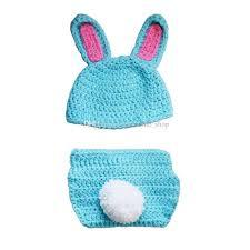 easter bunny hat adorable newborn blue easter bunny handmade knit crochet