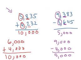 estimating addition and subtraction worksheets koogra