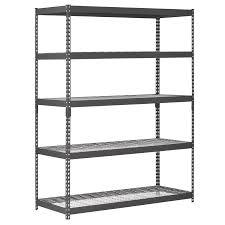 interior metal shelves home depot with metal shelves target and