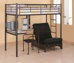 Bunk Bed With Dresser Bunks Twin Loft Bunk Bed With Futon Chair U0026 Desk Lowest Price