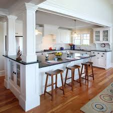 kitchen island wall best 25 kitchen island pillar ideas on kitchen