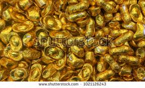 new year gold coins chocolate gold coins new year stock photo 1021126243