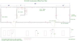 Modular Duplex Floor Plans Floor Plans For Jobsite Trailers