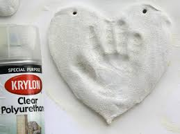 salt dough handprint ornaments how tos diy