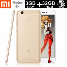 champagne cartoon xiaomi redmi 4x 3gb ram 32gb rom octa core 1 4ghz champagne gold
