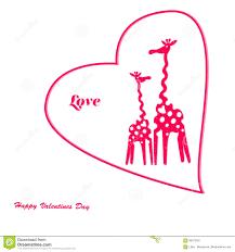 s day giraffe vector giraffe pink s day stock vector image 85573291