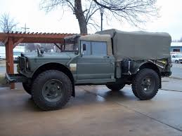 military jeep 1967 military jeep kaiser turbo charged diesel 4x4 special