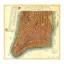 Old Map New York City by 1807 Plan Of The City Of New York Old Maps And Prints New York