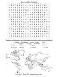 word search nationalities printable esl english vocabulary printable vocabulary exercises cities