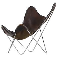 Airborne Butterfly Chair by Jorge Ferrari Hardoy Butterfly Sling Chair For Knoll