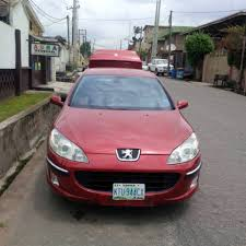 peugeot pink registered nigerian used peugeot 407 year 2006 manual drive