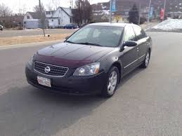 nissan canada grad program used 2005 nissan altima sl for n a in saint john used inventory