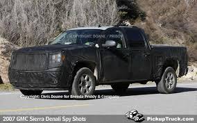 2007 Gmc Sierra Interior Pickuptruck Com 2007 Gmc Sierra Denali Spy Shots