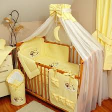 Yellow Crib Bedding Set Cot Sheet Set Bunny Patch Baby Bedding Setssetscover And Filler
