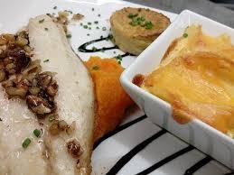 dorade cuisine plat du jour dorade royale gratin au cheddar affiné ร ปถ ายของ