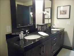 Black Bathroom Cabinet Veneer Bathroom Cabinets Contemporary Bathroom