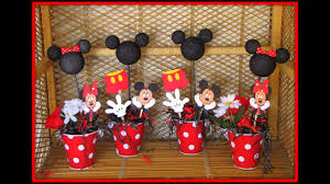 Mickey Mouse Table by Mickey Mouse Baby Shower Decorations Ideas Youtube