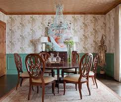 Traditional Dining Room 9 Methods To Decorate The Dining Room With Eye Catching Wallpaper