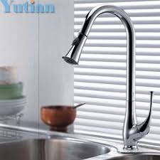 Square Kitchen Faucet by Free Shipping Single Handle Copper Sink Chrome Square Kitchen
