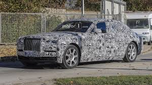rolls rolls royce 2018 rolls royce phantom spied cruising in a winter wonderland