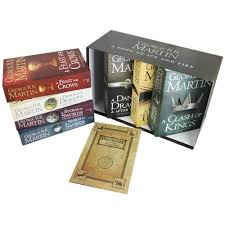 a song of ice and fire 7 book box set westeros u0026 free cities