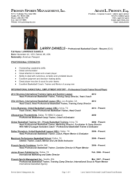 Resume For Football Coach Soccer Player Resume Example Resume Ideas