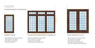 Inswing Awning Windows Tudor Home Style Exterior Window Door Details Ucc Interior